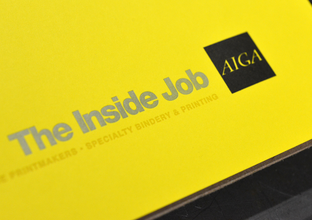 The Inside Job is an annual conference hosted by AIGA Houston.